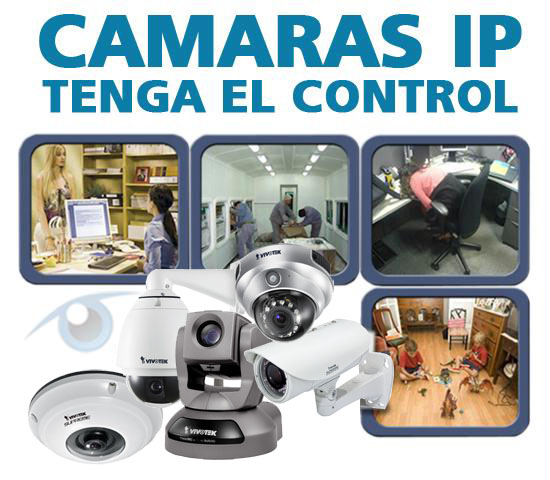 Cámaras IP de Video Vigilancia - Lima Peru